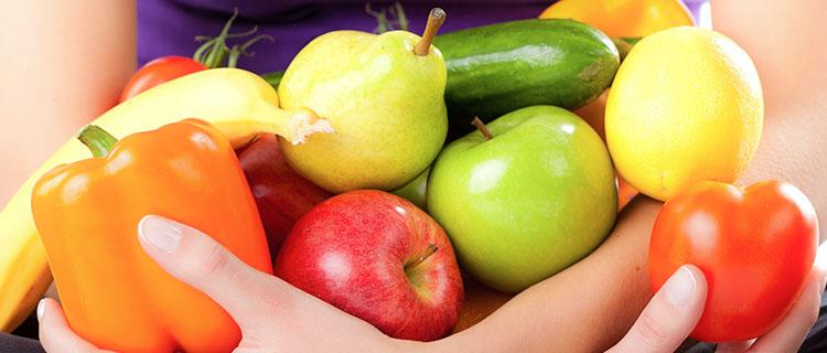 Obst und Gemüse bunt