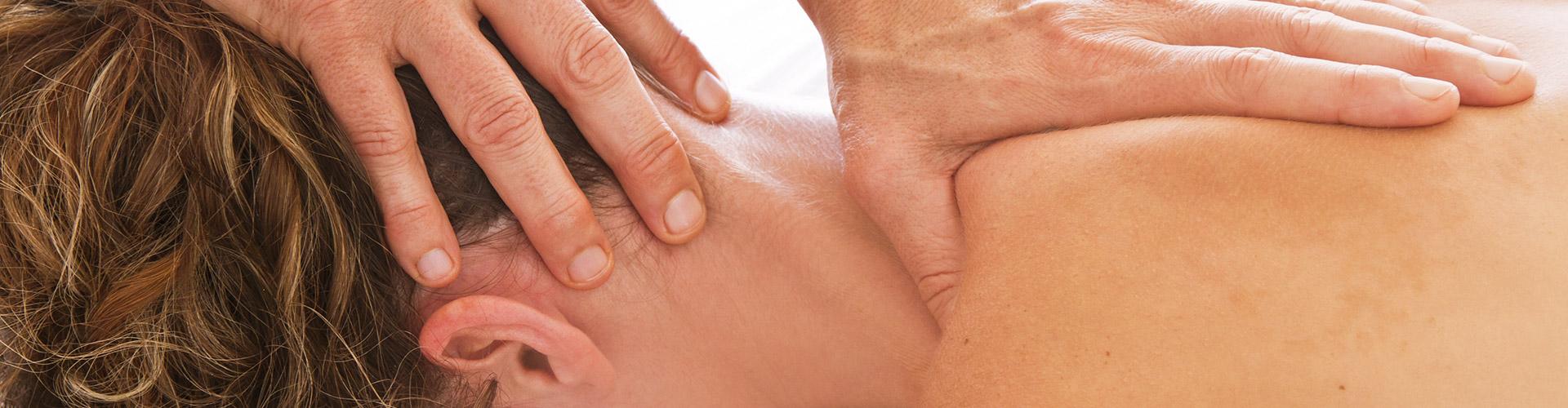 massage nacken schultern