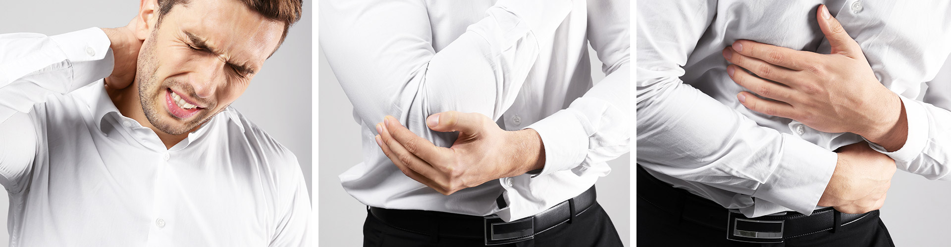 nackenschmerzen ellenbogenschmerzen bauchschmerzen